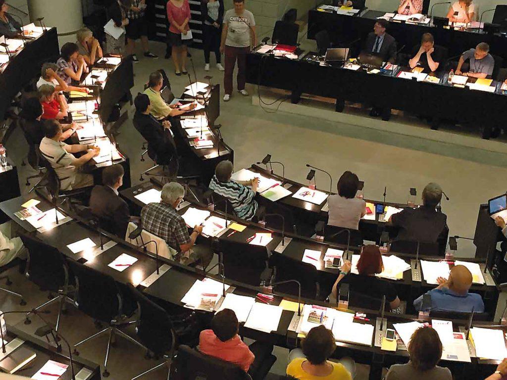 Les deux sessions 2020 du Synode national reportées – Nouvelles dates
