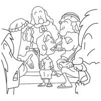 Kostenlose Ausmalbilder zur Bibel / Free coloring sheets