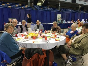 Lunch at FNSB Senior Day