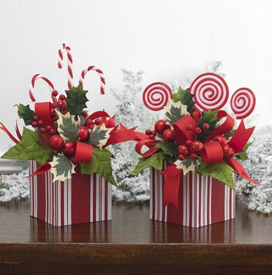 Pictures Of Christmas Centerpieces