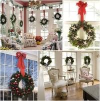 50 Amazing Christmas Wreath Decorating Ideas 2016 ...