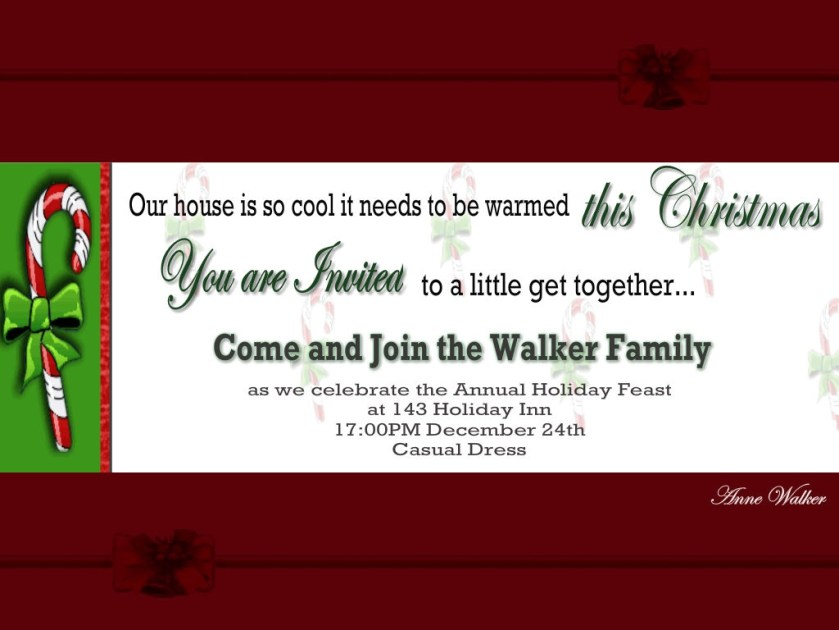 Christmas Party Invitations01