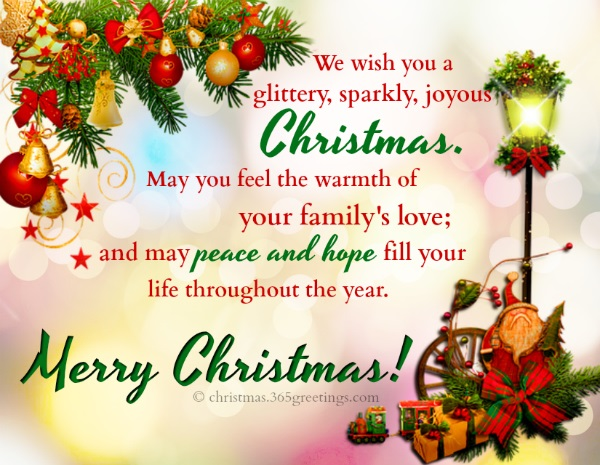Merry Christmas Wishes and Short Christmas Messages - Christmas Celebration  - All about Christmas