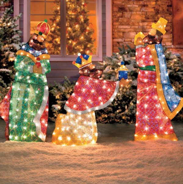 christian outdoor christmas decorations