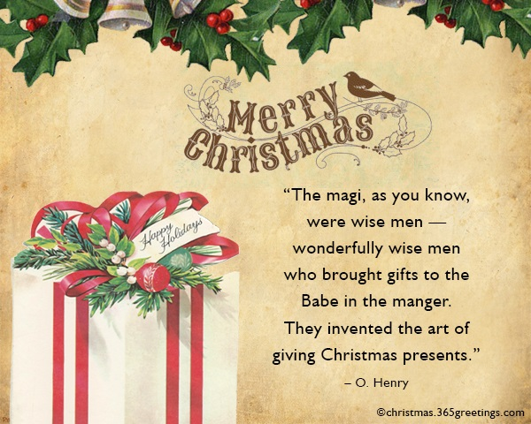 Quotes For Christmas Gifts