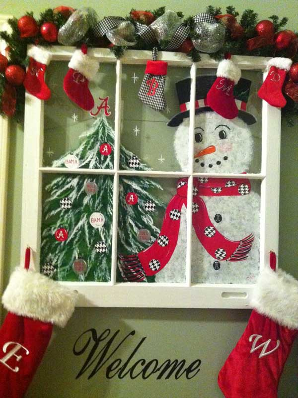 Top Christmas Window Decorations