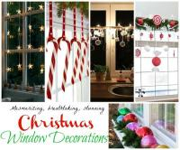 Top Christmas Window Decorations
