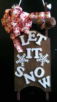 40+ Christmas Door Decorating Ideas  Christmas Celebrations