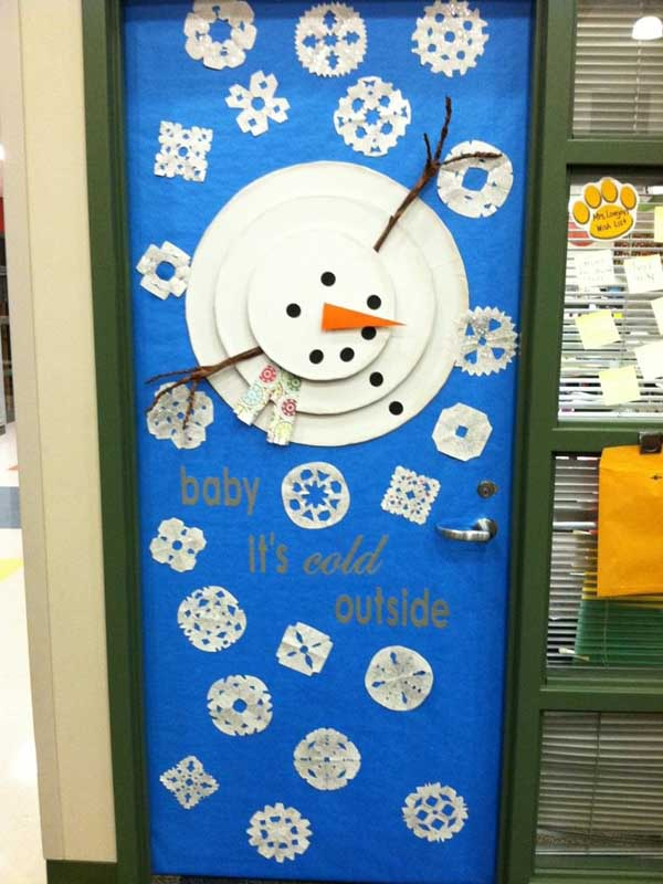 Homemade Christmas Decorations Frosty The Refrigerator