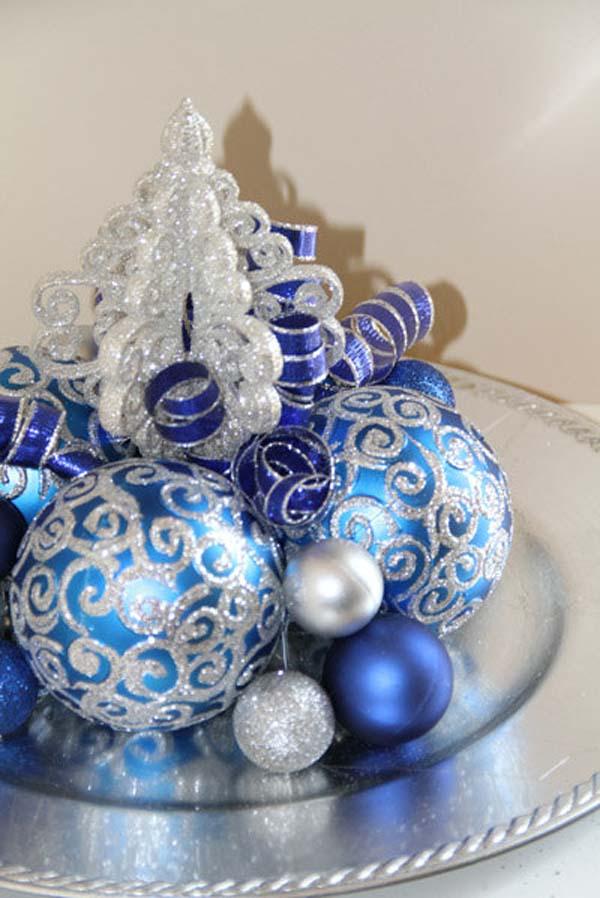 Christmas Decorations Blue