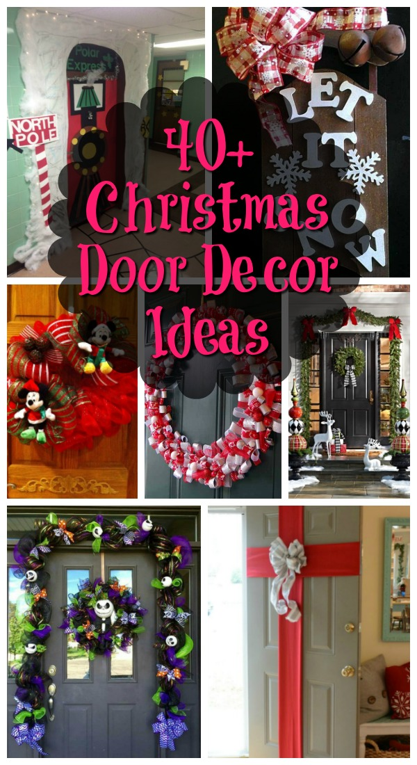 Ideas For Holiday Door Decorations