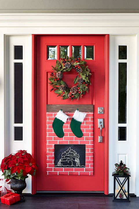 Christmas Door Cover Decorations