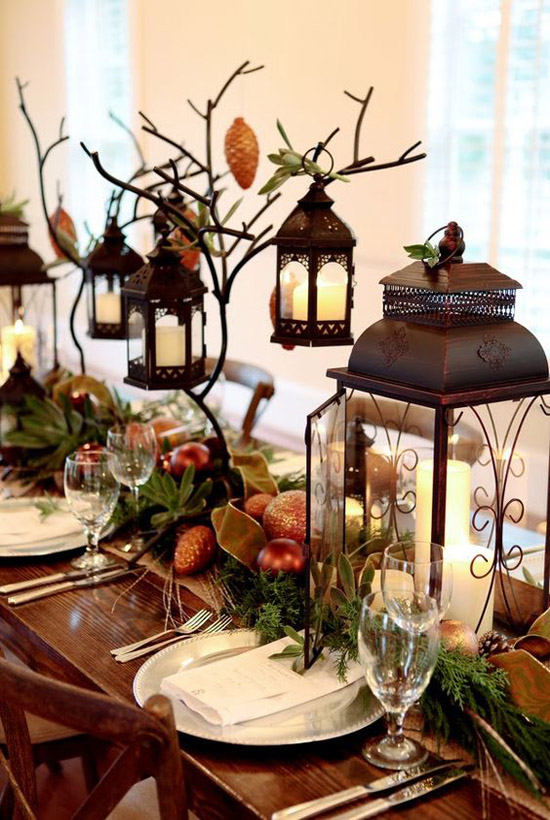 Top Christmas Lantern Decorations To Brighten Up the