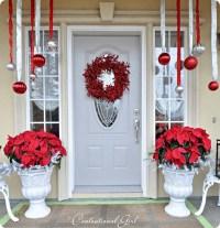 Christmas Porch Decorations - Christmas Celebration - All ...