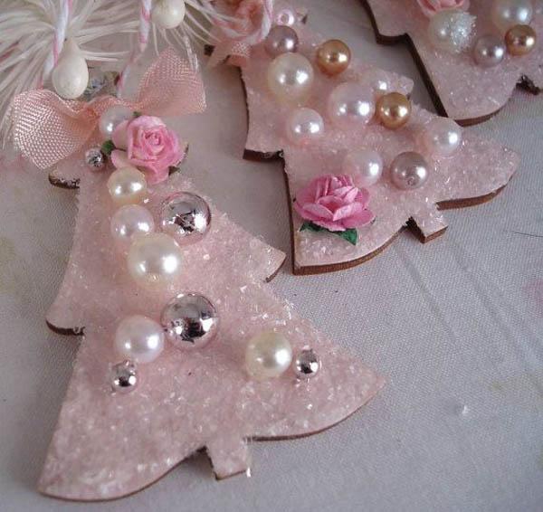 Pink Christmas Decoration Ideas Christmas Celebration