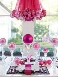 Pink Christmas Decoration Ideas - Christmas Celebration ...