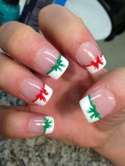 amazing and easy christmas nail