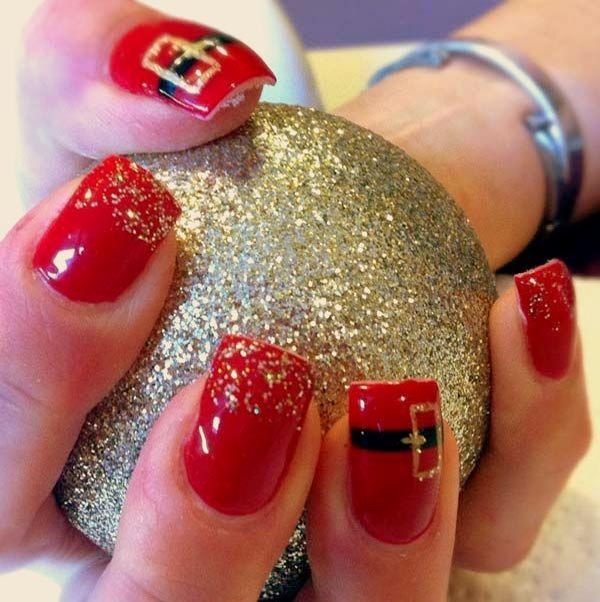 Christmas Nail Designs Pictures