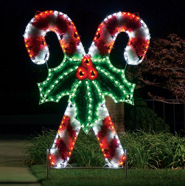 14 LED Outdoor Christmas Decorations