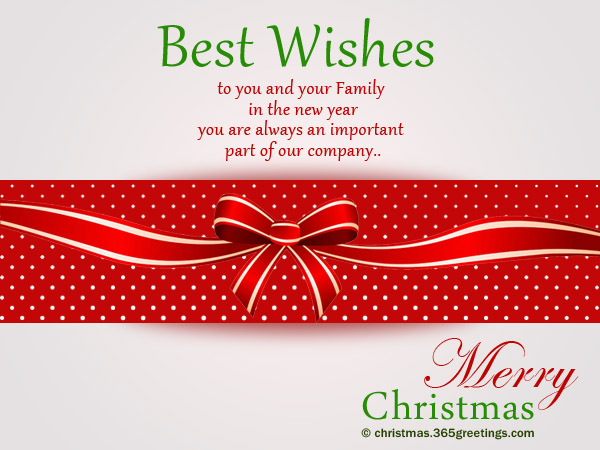 Christmas Messages For Employees Christmas Celebration