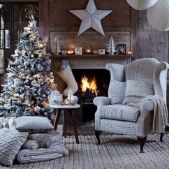 Beautiful Living Rooms At Christmas Window Curtains For Room Decorating Ideas Decorations 02
