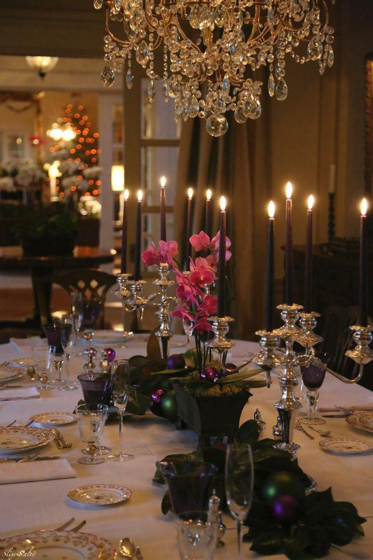Top 50 Christmas Tablescapes  Christmas Celebration  All about Christmas
