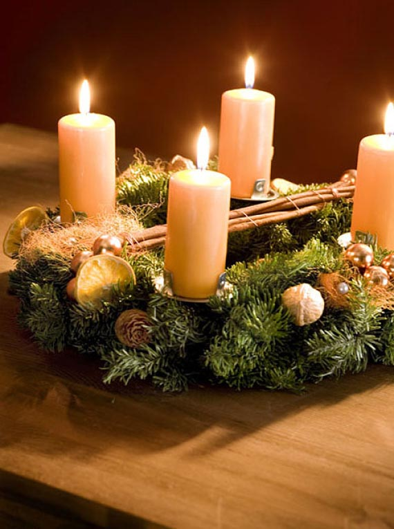 Christmas Candle Decorating Ideas Pintrist Candles
