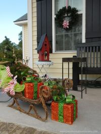 Top 40 Outdoor Christmas Decoration Ideas From Pinterest ...