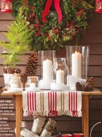 Top Indoor Christmas Decorations on Pinterest