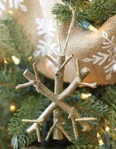 Twig snowflake ornament source also top christmas decoration made with twigs and branches rh greetings