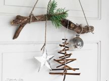 Top 40 Christmas Decoration Made With Twigs And Branches ...