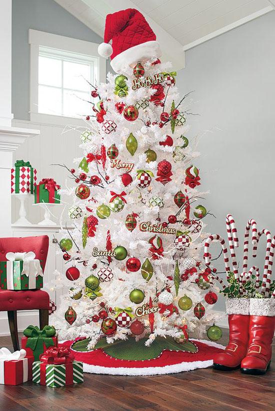 Top White Christmas Tree Decorations Christmas
