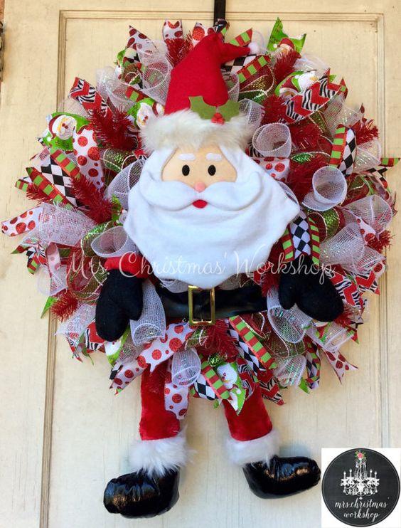 Top 40 Santa Claus Inspired Decoration Ideas  Christmas