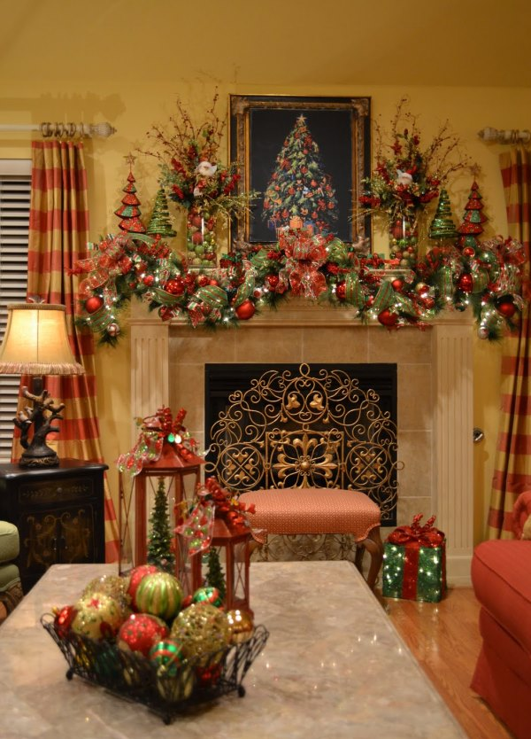 Top Red And Gold Christmas Decor Ideas Christmas Celebration All About Christmas