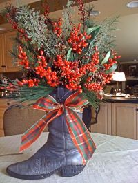 Top 40 Decoration Ideas With Santa Boots - Christmas ...