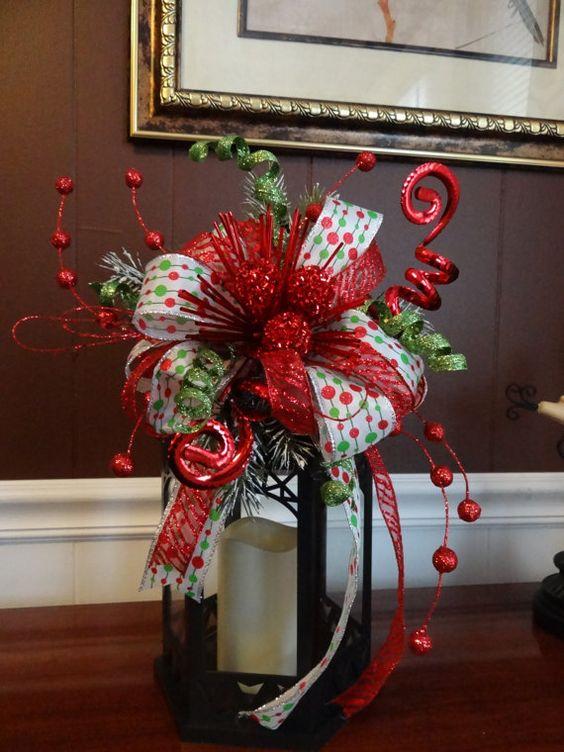 Top 40 Fascinating Christmas Decorations Using Ribbon