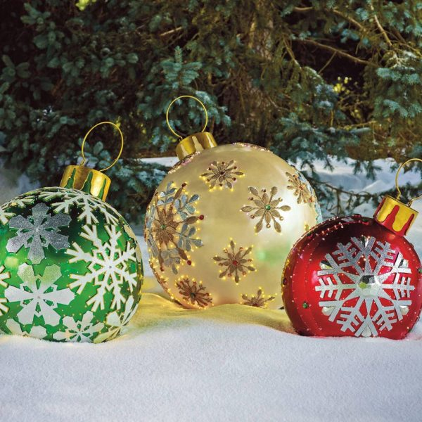 Outdoor Christmas Decorations Ornaments