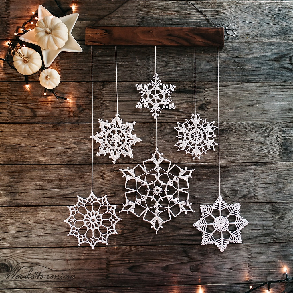 Snowflake Christmas Decoration Ideas