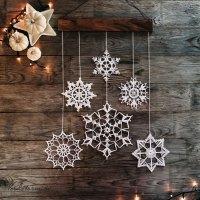 Snowflake Christmas Decoration Ideas - Christmas ...