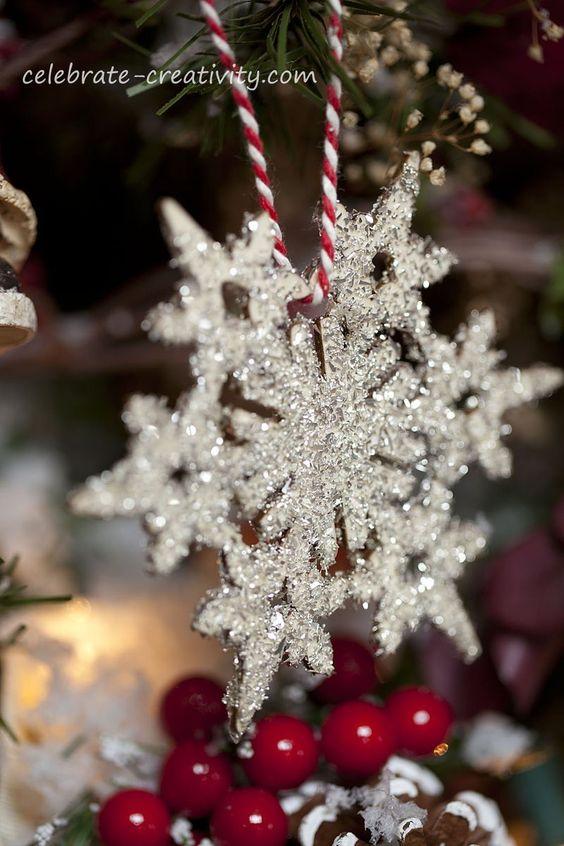 Snowflake Christmas Decoration Ideas  Christmas