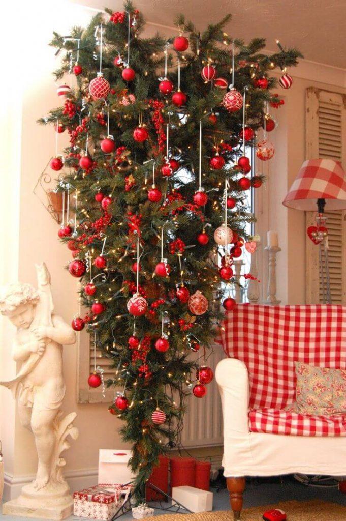 sofa feet covers my bobs sleeper reviews 30 beautiful upside down christmas tree ideas - ...