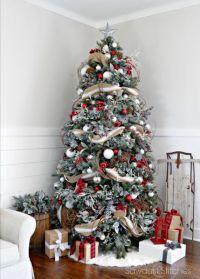 30 Beautiful Christmas Tree Garland Decoration Ideas ...
