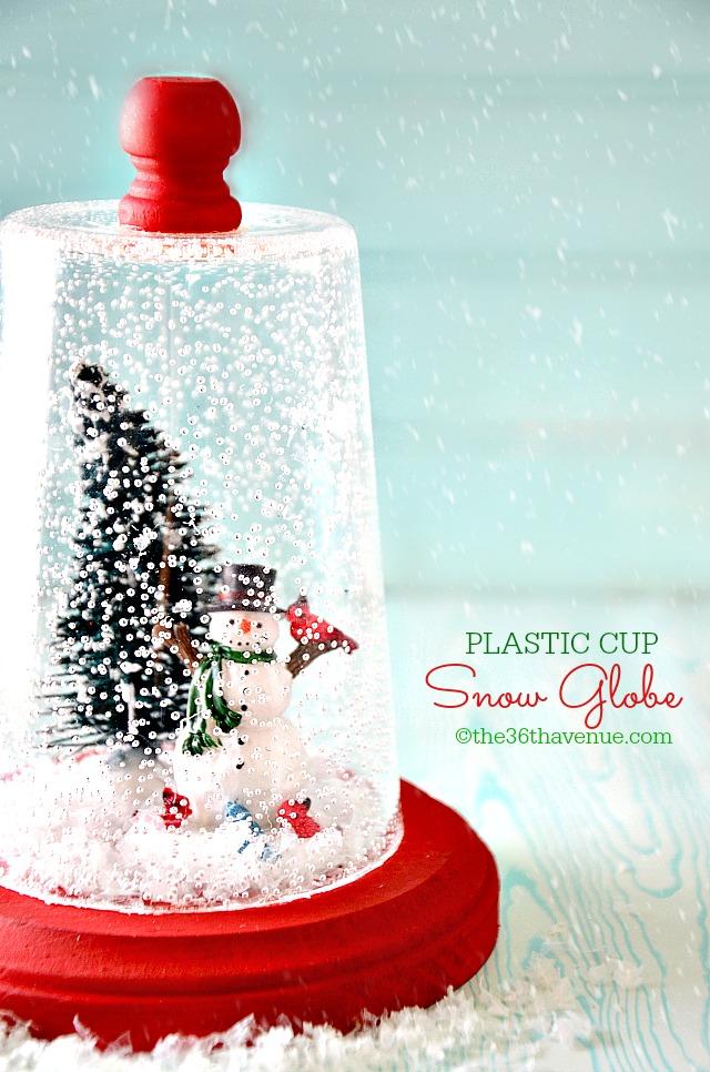 25 Magical DIY Christmas Snow Globes Christmas