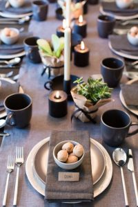 Modern Christmas Table Setting Ideas - Christmas ...