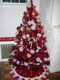 Red Christmas Tree Decorations Ideas - Christmas ...