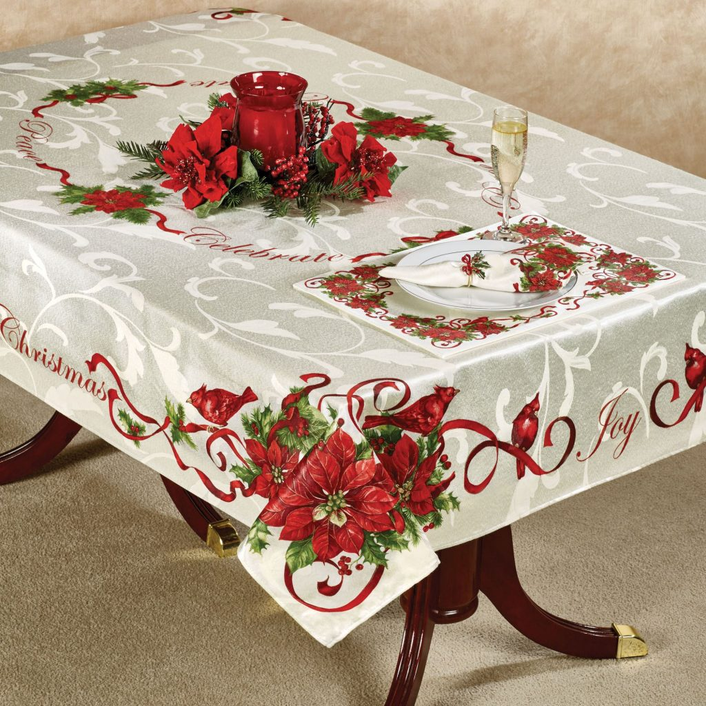 lenox christmas chair covers edo posture best 28 43 tablecloths and runners