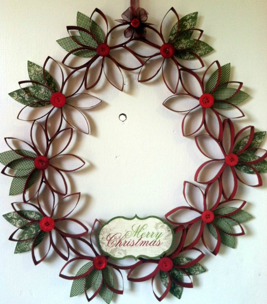 30 Christmas Crafts With Toilet Paper Rolls Christmas Celebration All About Christmas