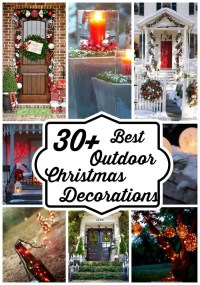 Best Outdoor Christmas Decorations Ideas - All About Christmas