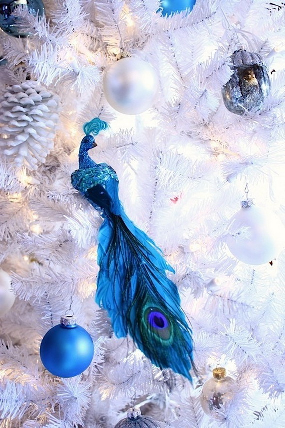 40 Amazing Blue Christmas Decorating Ideas All About