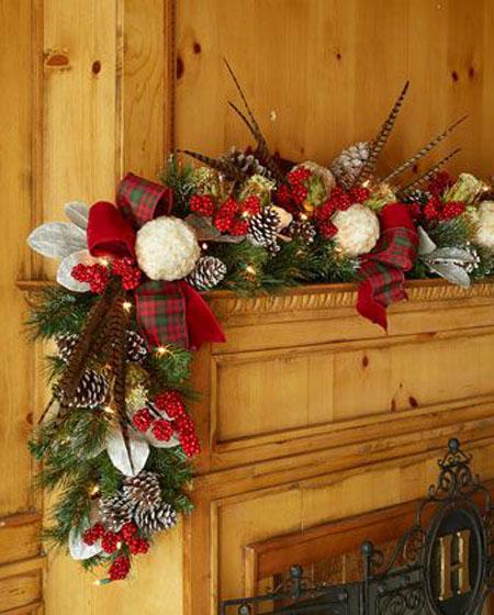 40 Christmas Garland Decorating Ideas